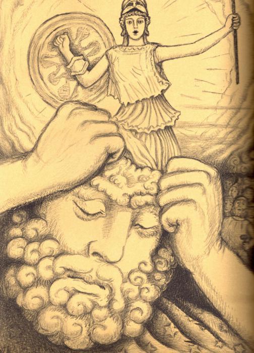 Афина из головы Зевса