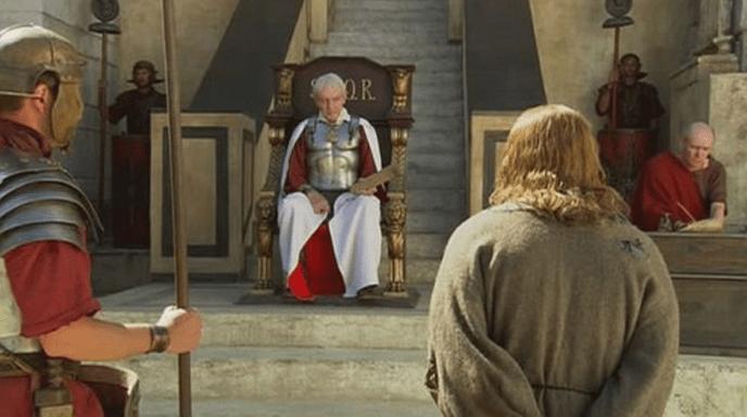 Иешуа на суде у Пилата