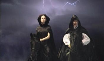 Маргарита и Мастер на лошадях