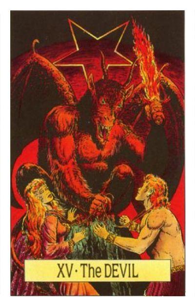 Таро 15 Дьявол